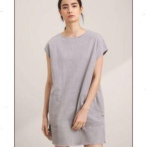 Aritzia Wilfred Nori dress grey XXS